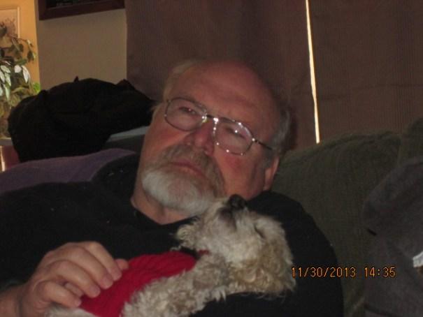 Grumpy old man finally found a friend.