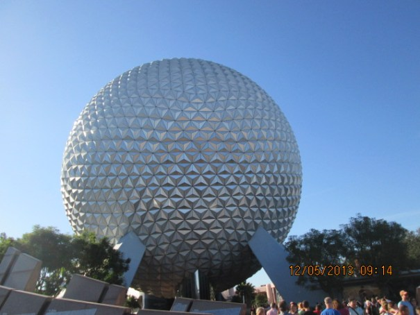The icon of Epcot.