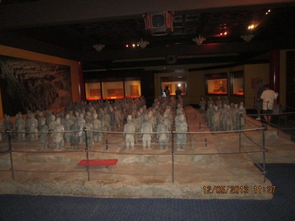 Very nice representation of the terracotta soldiers.