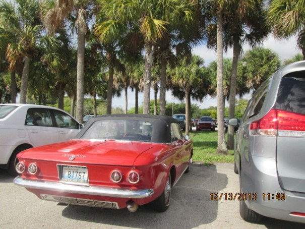 Corvair convertible, pretty cool and in decent shape.