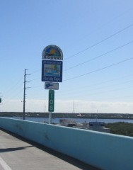 Scenic highway sign.