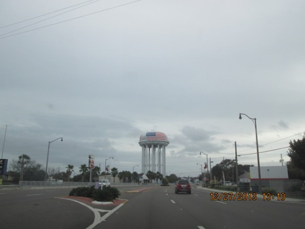 City of Cocoa water tank.  It is big.