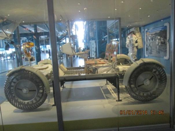 Lunar rover.