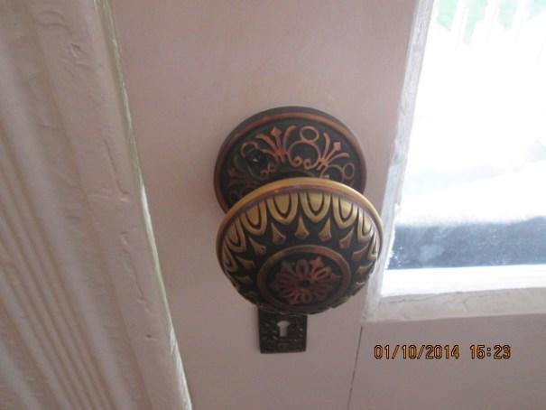 I loved the door knobs.