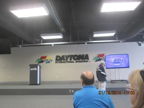 We got to see the video shown to the crew chiefs and drivers on race day.  Very short, very simple, very few rules.