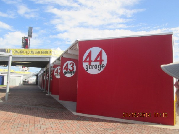 Maximum number of cars on the track is 43, thus 44 garages.