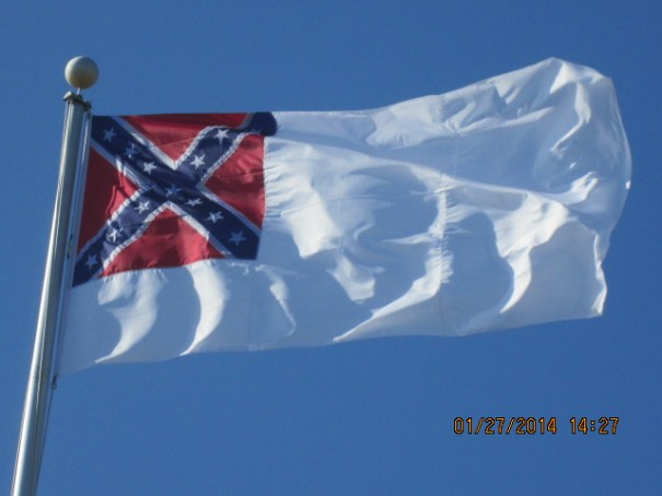 The second Confederate Flag.