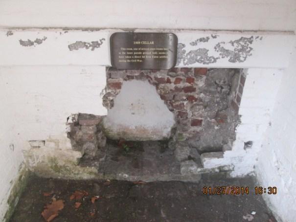 Remnants of the Civil War.