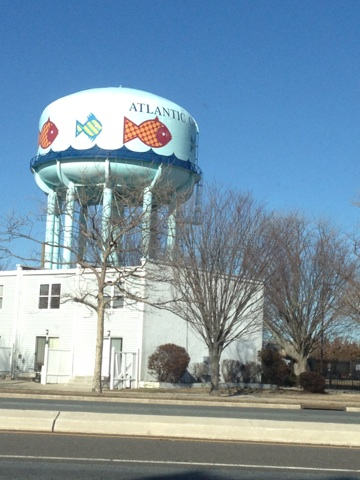 Lex must have liked this water tank.