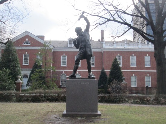 The Signer statue, how this has impacted all our lives.