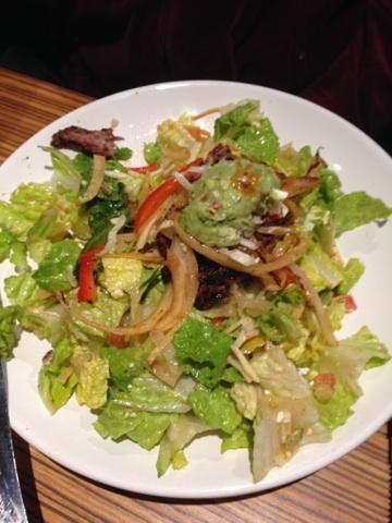 Edie's steak salad.