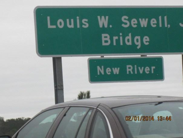 The Sewell Bridge.
