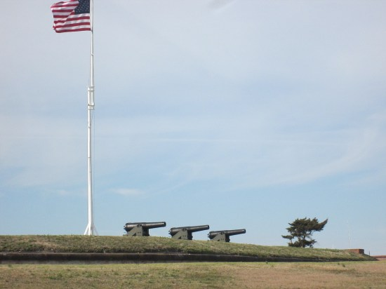 Fort Macon cannon.