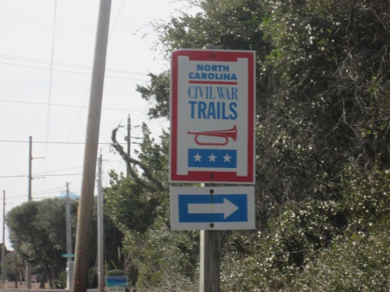 Lots of trail signs.