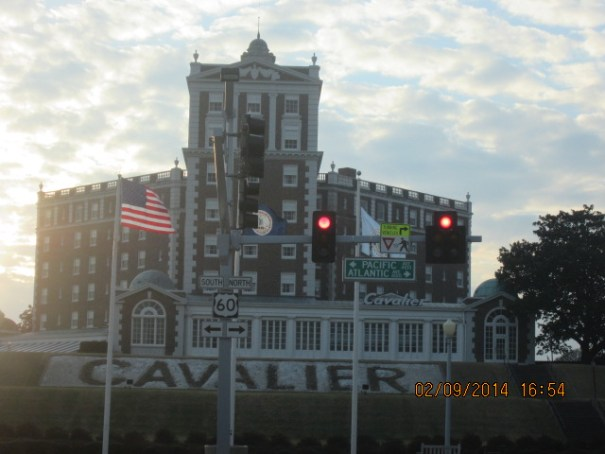 Cavalier Hotel, 7 presidents have been guests, founded in 1926.