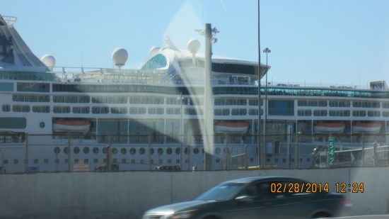 Cruise ship out of Baltimore.