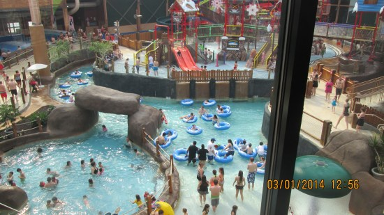 It's really a big indoor water park.