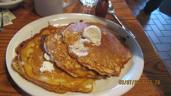 My no protein get rid of the gout pancakes.