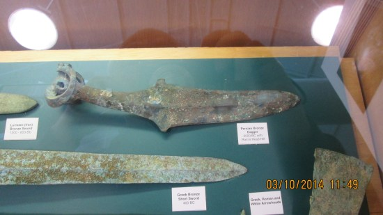 Ancient knives.