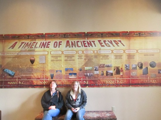 I had a chance to read the timeline.  It is hard to do justice to 5,000 years.