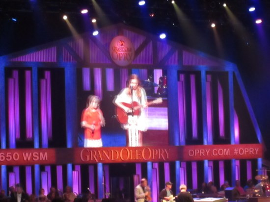 Lennon and Maisy sang beautifully.