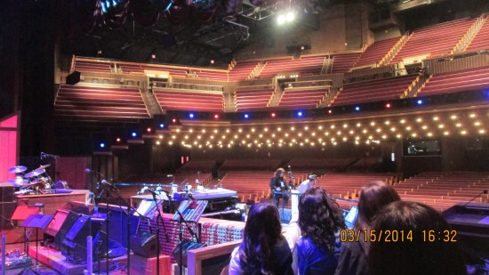 We each had the chance to get out pictures taken in the circle from the Ryman Auditorium.