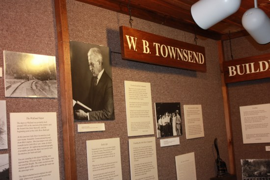 Mr Townsend, a nice guy that clear cut the forest, made lots of money and