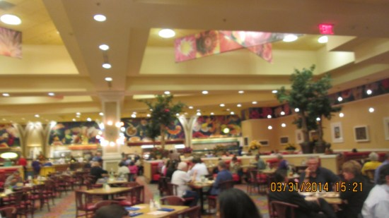 Great buffet at South Point.
