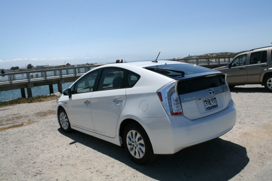 As cool as the blue one is, this is my favorite; our new Prius.
