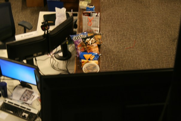 We looked in one newsroom and found the fuel that they run on, processed junk.  Where is Dr. Gupta?