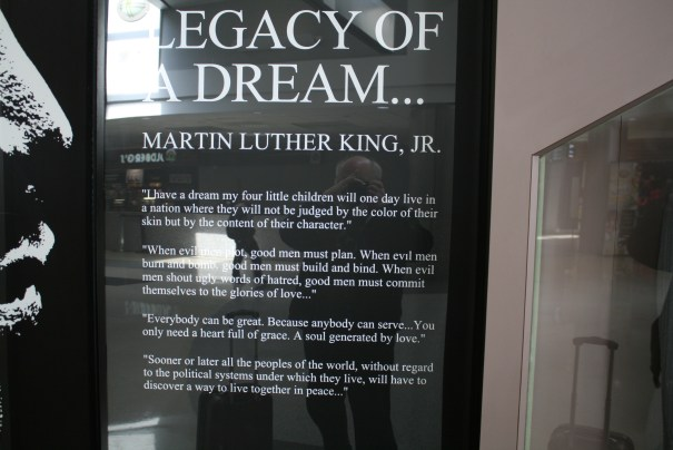 Part of the I have a dream speech.