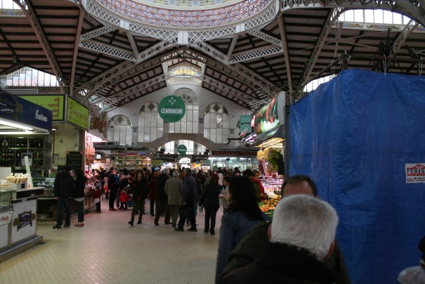 And a market inside.