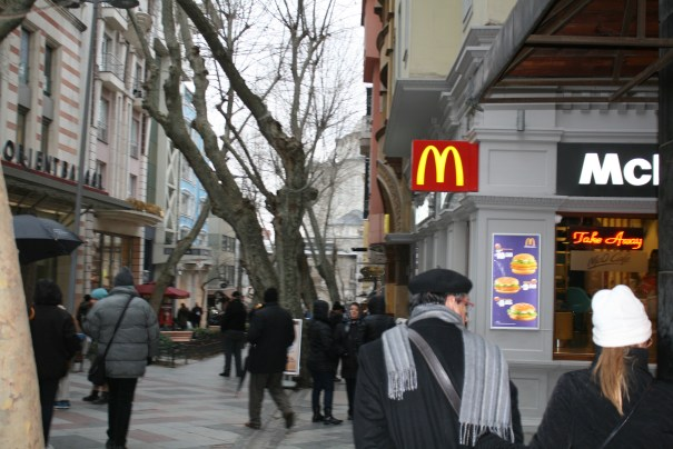 Micky D's in Istanbul.