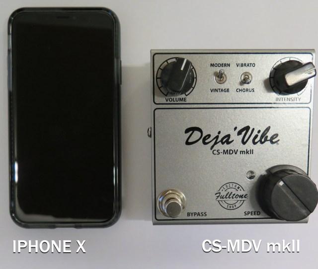 Cs Mdv Mkii Size Comparison W Iphone X