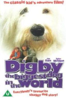 Poster do filme Digby - O Maior Cão do Mundo