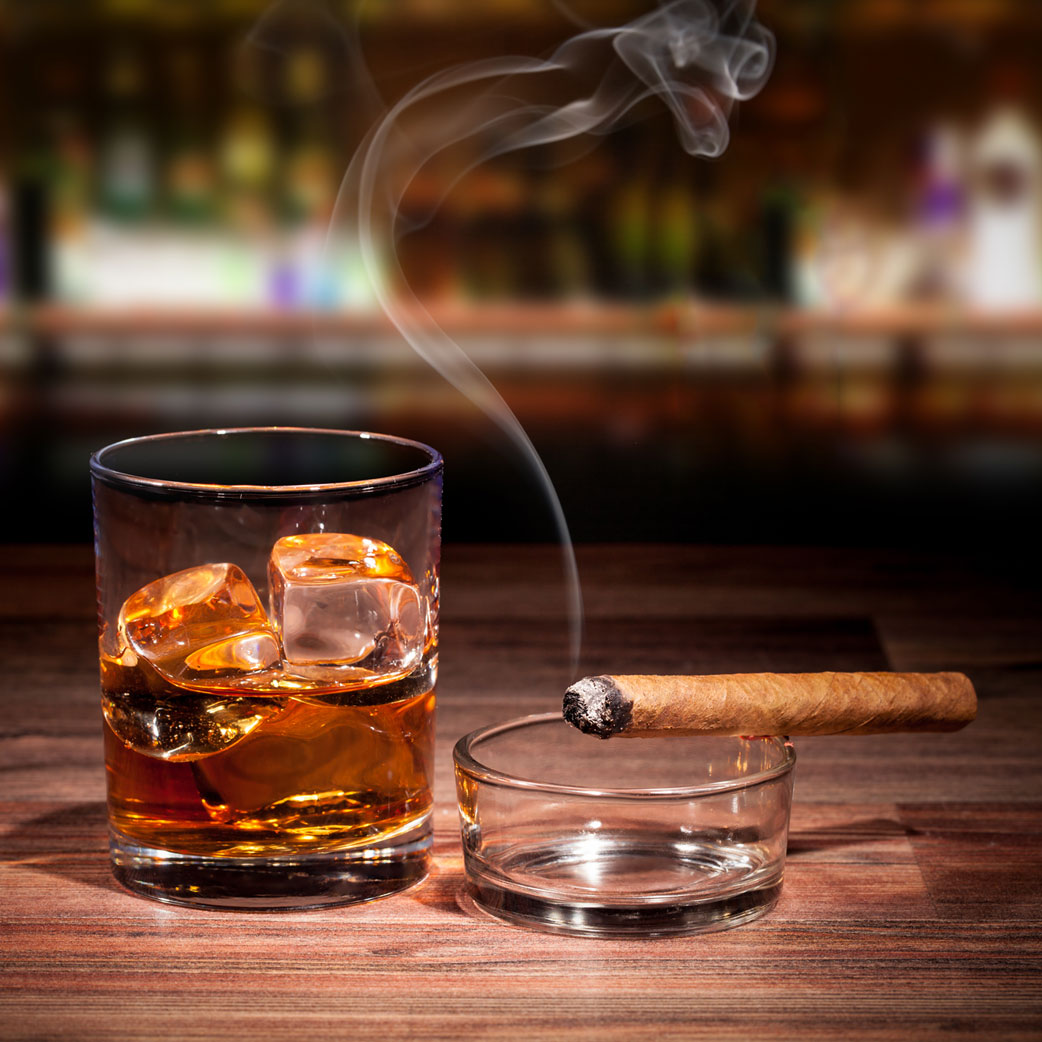 Whisky and Cigar Bachelor Party | Full Up Speakeasy & Cabaret Club