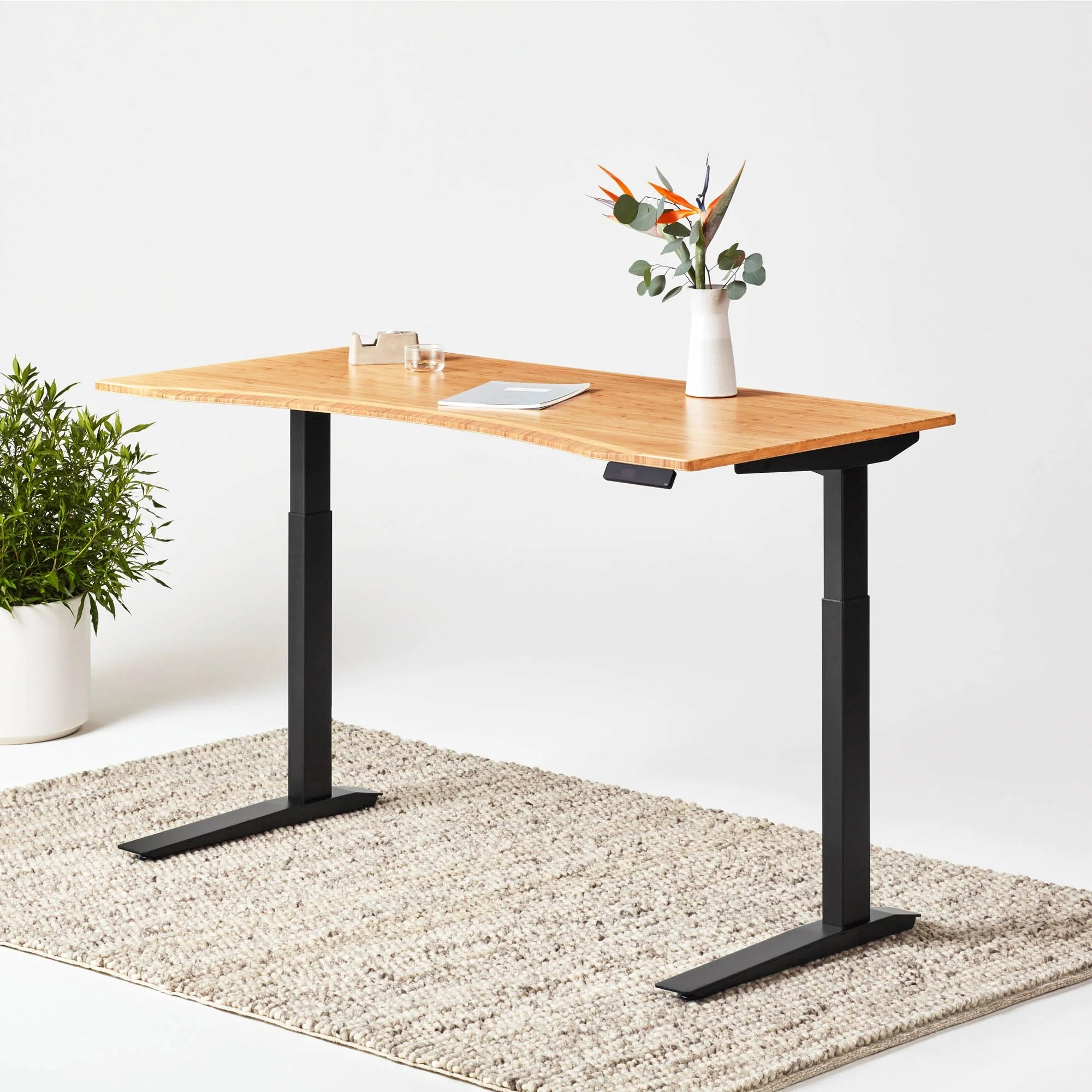 Jarvis Bamboo Standing Desk The 1 Rated Desk Fully