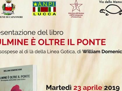 Presentazione a Capannori, con ANPI Lucca