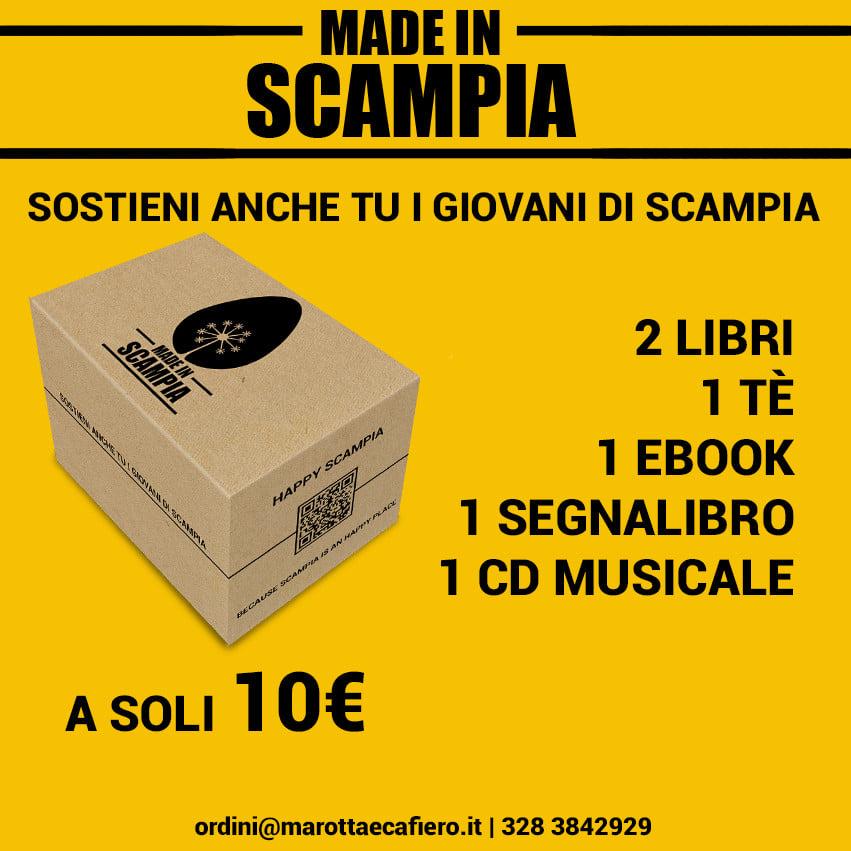 Made in Scampia box. Diffondiamo cultura!