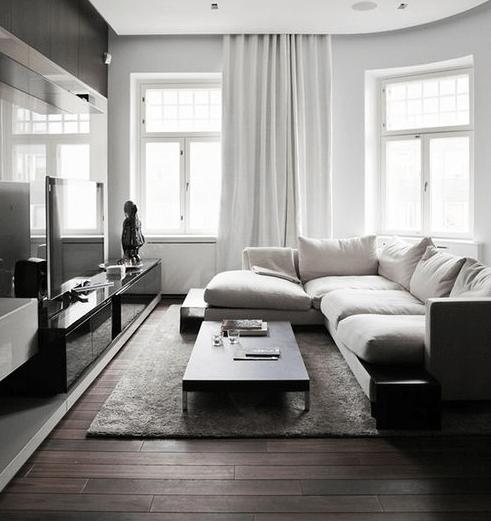 Disimpegno, una camera, un bagno, due terrazzi a pozzo. Soluzioni Per Arredare Open Space Moderno