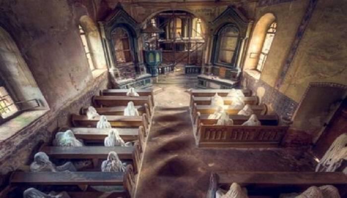 Η εκκλησία των χαμένων ψυχών: Συγκλονιστικές εικόνες από τον εγκαταλελειμμένο ναό του 14ου αιώνα