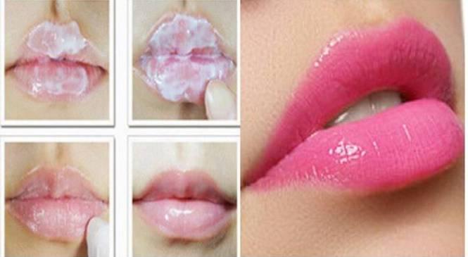 Ακολουθείστε Αυτή Τη Συμβουλή & Τα Χείλη Σας Θα Αποκτήσουν Φυσικό Ροζ Χρώμα ΧΩΡΙΣ ΚΡΑΓΙΟΝ!