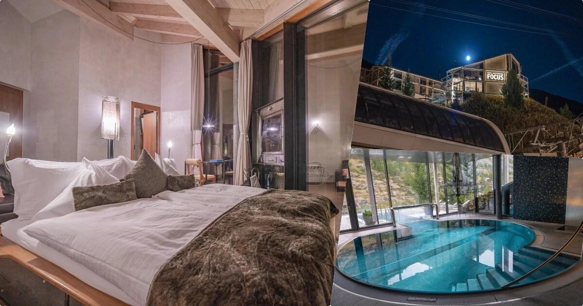 Matterhorn FOCUS Design Hotel |瑞士策馬特飯店推薦,戶外/室內泳池好拍、房間高質感又帶陽台,不出門都能看到馬特洪峰,早餐豐盛的誇張,必住!