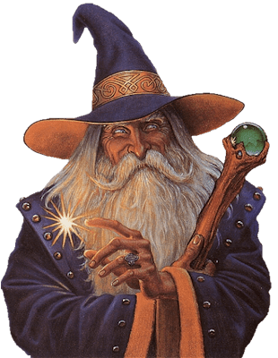 Image result for smiling wizard