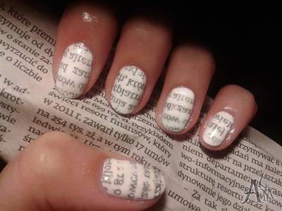 Essence Nail Art Paper Print Manicure 02 Ideas