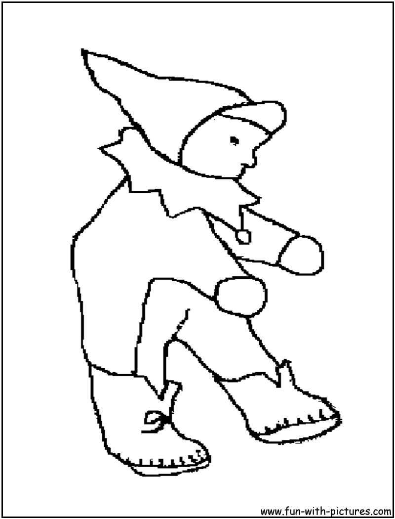 Babydoll Coloring Page