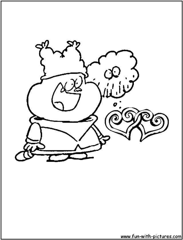 Chowder Coloring Pages - Free Printable Colouring Pages for kids