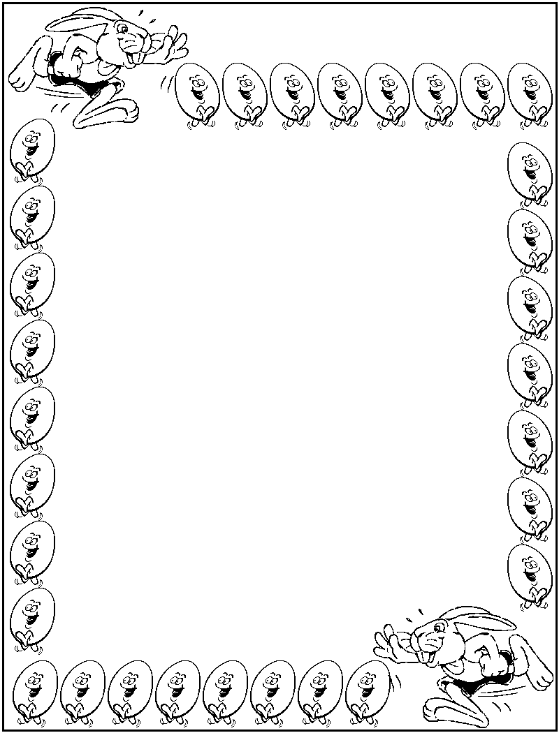 Borders Coloring Pages Free Printable Colouring Pages
