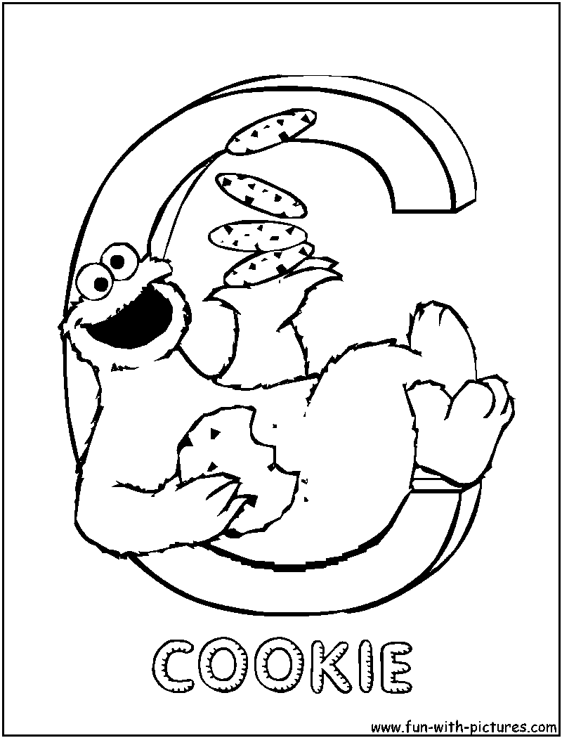 Letter C Coloring Pages Printable 416859