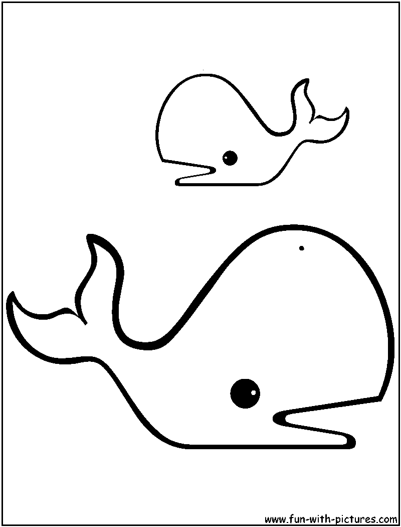 Whale Coloring Pages Free Printable Colouring Pages For Kids To